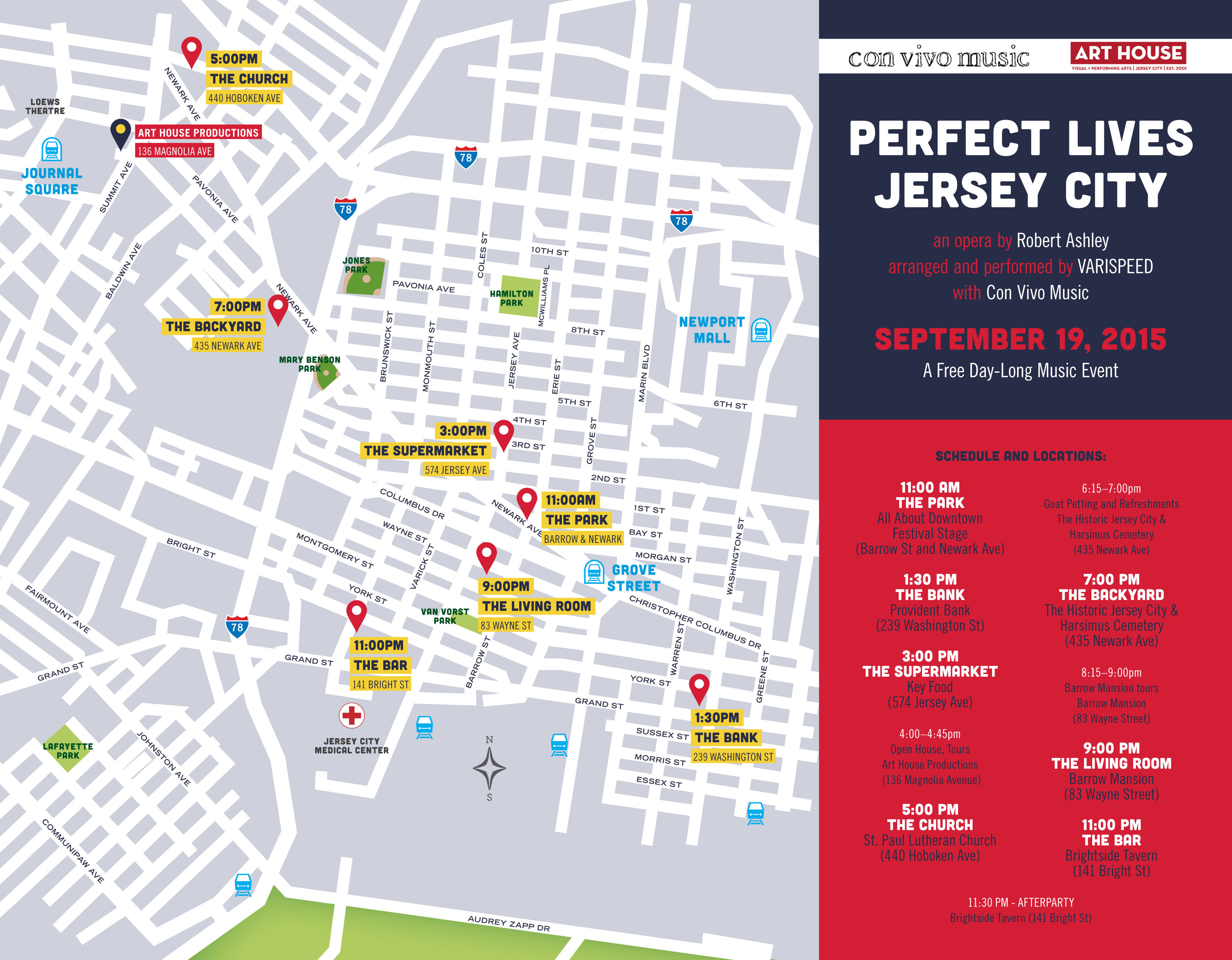 Perfect Lives Jersey City - Map of jersey city
